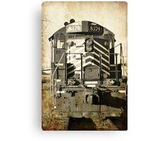 aged train  Canvas Print