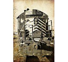 aged train  Photographic Print
