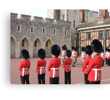 Beefeaters Canvas Print