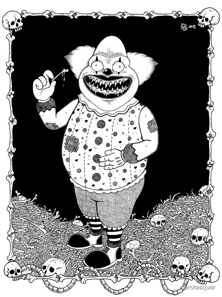 Cannibal Clown by Grotesquer