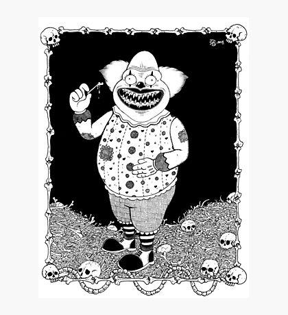 Cannibal Clown Photographic Print