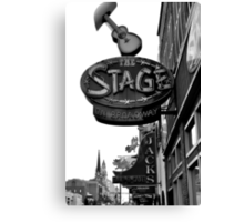 the Stage in Nashville, TN Canvas Print
