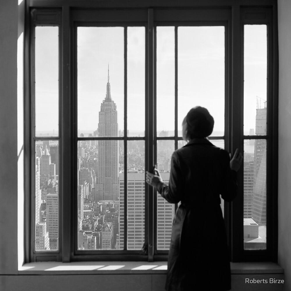 ... your yearning wanders in new fields ... by Roberts Birze