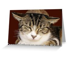Congratulations on your Bar Mitzvah! Greeting Card