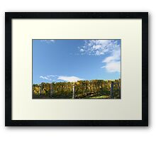 I rely on the yield! Framed Print