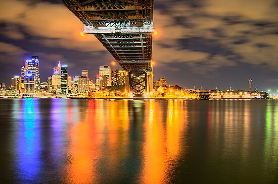 Icon - Moods Of A City #22 - The HDR Series , Sydney Harbour, Australia by Philip Johnson