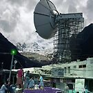 Construction of the Pakistani Starfleet Deepspace Telebeam Tower in Peshawar by Kenny Irwin