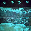 """""""Night Dreams"""" -*FINALIST EMERGING ARTIST 2010 AWARD* by Belinda """"BillyLee"""" NYE (Printmaker)"""