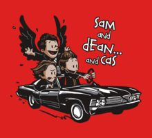 Sam and Dean...and Cas! Kids Clothes