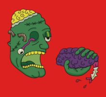 Zombie Brain by mootuntees