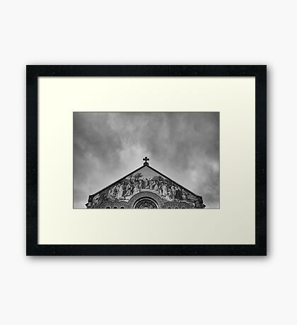One Day in Stanford / Study 5 Framed Print