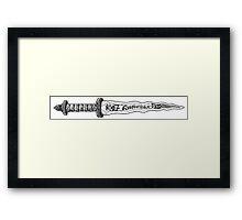 Rumplestiltskin's Dagger Framed Print