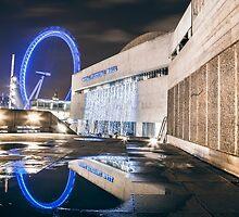 Royal Festival Hall by Vincent Sluiter