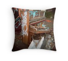 Trash Classical (Holga) #2 Throw Pillow