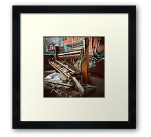 Trash Classical (Holga) Framed Print