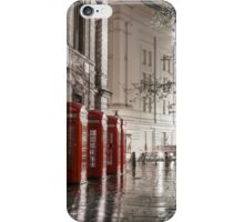 London Phone Boxes iPhone Case/Skin