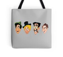The Marx Brothers Faces  Tote Bag