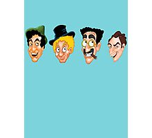 The Marx Brothers Faces  Photographic Print