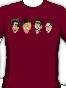 The Marx Brothers Faces  T-Shirt