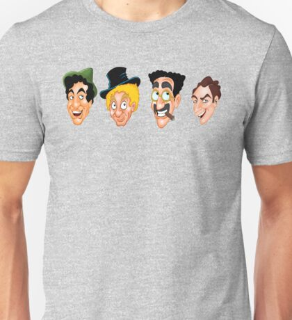 The Marx Brothers Faces  Unisex T-Shirt