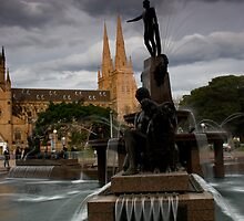 Archibald Fountain by MiImages
