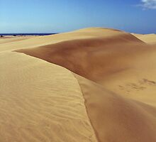 Dunes of Maspalomas by Tero Iivari