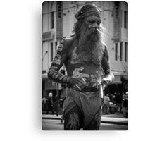 Aboriginal Dancer Canvas Print