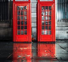 London Telephone Boxes by Vincent Sluiter