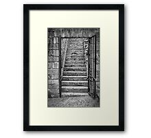 Portoni / Building Doors - Study 4 Framed Print