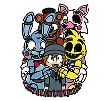 FNAF - Grand Re Opening Version 1 Photographic Print