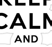 Keep Calm and Play Squash Sticker