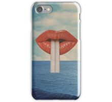LIPS AND OCEAN CASE iPhone Case/Skin
