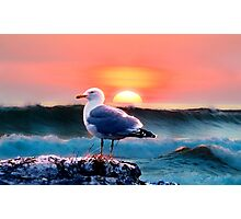 Surfside Sunset  Photographic Print