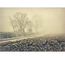 Old Country Lane.. Photographic Print
