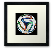 2014 FIFA World Cup Brazil match ball big enough for duvet Framed Print