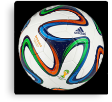 2014 FIFA World Cup Brazil match ball big enough for duvet Canvas Print