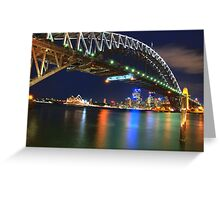 Icons - Moods Of A City #23 - The HDR Series , Sydney Harbour , Australia Greeting Card