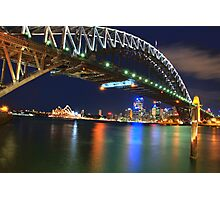 Icons - Moods Of A City #23 - The HDR Series , Sydney Harbour , Australia Photographic Print