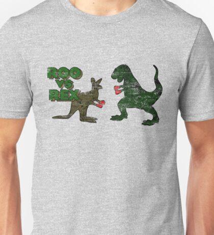 Roo vs. Rex Unisex T-Shirt
