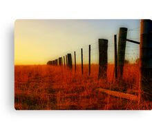 """The Boundary Line "" Canvas Print"