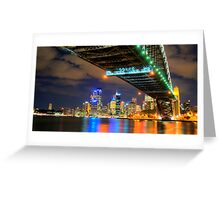 Big Lights Big City - Moods of A City - The HDR Experience Greeting Card