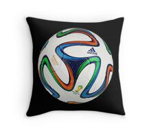 2014 FIFA World Cup Brazil match ball big enough for duvet Throw Pillow