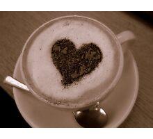 Caffeine Lover Photographic Print