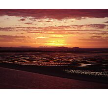 Sunset over Yellowpatch Photographic Print
