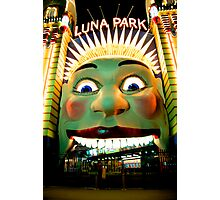 Luna Park Does HDR - Moods of A City #24 - The HDR Series Photographic Print