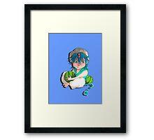 magi- aladdin  Framed Print