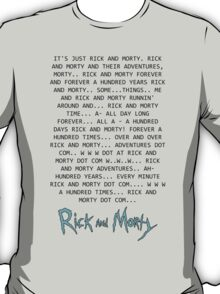 Rick and Morty Forever T-Shirt