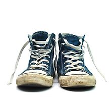old sneakers by tony4urban