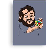 Kubrick's Cube - il cubo di Kubrick  Canvas Print