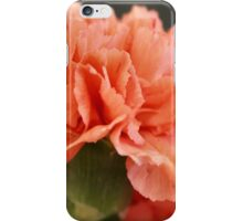 Apricot carnation iPhone Case/Skin